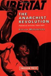 Cover of: The Anarchist Revolution
