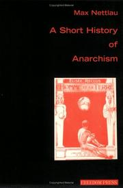 Cover of: A Short History of Anarchism (Anarchism & Psychoanalysis)