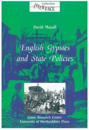 Cover of: English gypsies and state policies