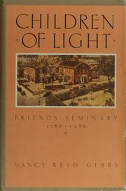 Cover of: Children of light | Nancy Reid Gibbs