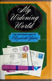 Cover of: My widening world