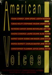 Cover of: American Voices