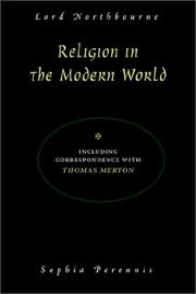 Cover of: Religion in the Modern World | Lord Northbourne