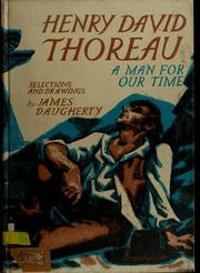 Cover of: Henry David Thoreau | Henry David Thoreau