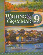 Cover of: Writing And Grammar 9