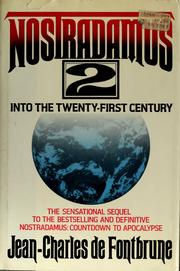 Cover of: Nostradamus 2: Into the Twenty-First Century