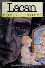 Cover of: Lacan for beginners