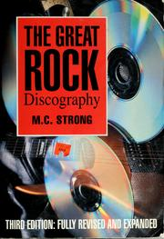Cover of: The great rock discography | M. C. Strong