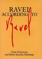 Cover of: Ravel d'après Ravel