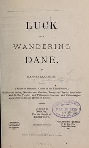Cover of: Luck of a wandering Dane