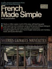 Cover of: French Made Simple | Eugene Jackson