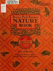Cover of: Boston park rangers nature book by Joy Reo