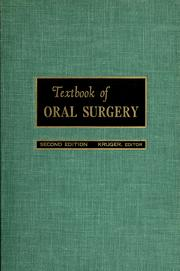 Cover of: Textbook of oral surgery |