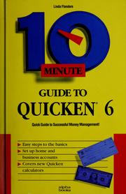 Cover of: 10 minute guide to Quicken 6