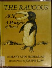 Cover of: The raucous auk: a menagerie of poems.