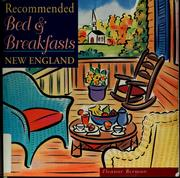 Cover of: Recommended bed & breakfasts