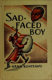Cover of: Sad-faced boy