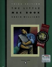 Cover of: The little Mac book | Williams, Robin