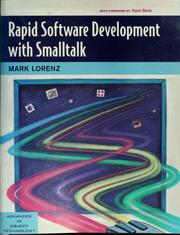 Cover of: Rapid software development with Smalltalk | Mark Lorenz
