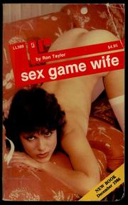 Cover of: Sex game wife