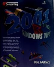 Cover of: PC/Computing 2001 Windows tips