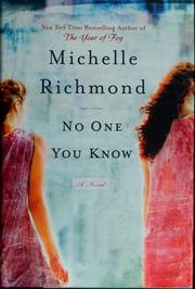 Cover of: No one you know by Michelle Richmond