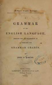 Cover of: McMunn's graphic grammar