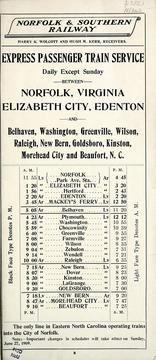 Cover of: Time tables of all passenger trains