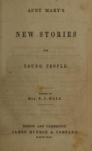 Cover of: Aunt Mary's new stories for young people