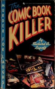 Cover of: The Comic Book Killer