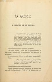 Cover of: O Acre