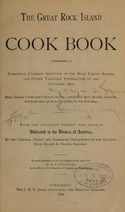 Cover of: The great Rock Island cook book