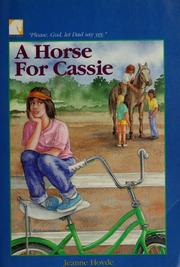 Cover of: A horse for Cassie | Jeanne Hovde
