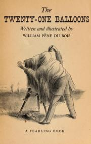 Cover of: The 21 Balloons