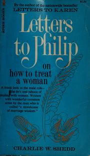 Cover of: Letters to Philip
