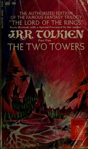 Cover of: The Two Towers by J. R. R. Tolkien