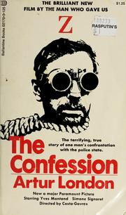 Cover of: The confession