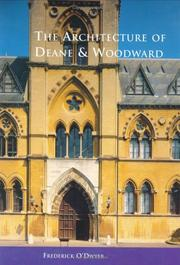 Cover of: architecture of Deane and Woodward | Frederick O