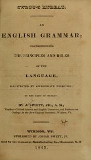 Cover of: An English grammar