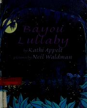 Cover of: Bayou lullaby