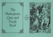 Cover of: Shakespeare Quiz and Puzzle Book