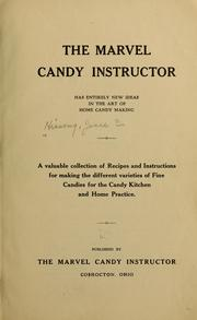 Cover of: The marvel candy instructor