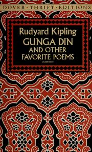 Cover of: Gunga Dinand other favorite poems