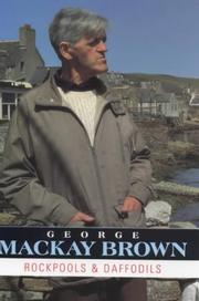 Cover of: Rockpools and daffodils | Brown, George Mackay.