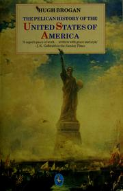 Cover of: History of the United States of America, The Pelican