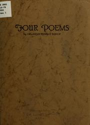 Cover of: Four poems