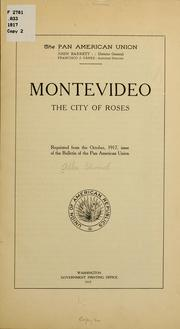 Cover of: Montevideo