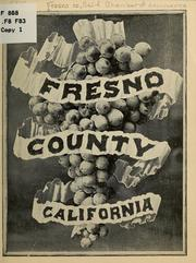Cover of: Fresno county, California