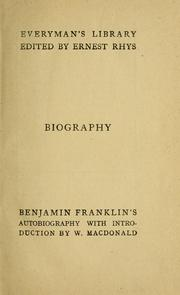 Cover of: Memoirs of the life & writings of Benjamin Franklin | Benjamin Franklin