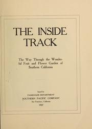 Cover of: The inside track